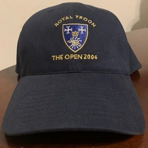 NWOT '04 adidas British Open Royal Troon Hat